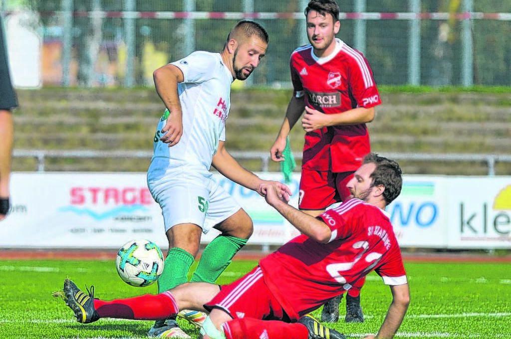 Fußball: Kehler FV - SV Stadelhofen, YANNICK IMBS, MARKUS KOPF